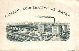 LAITERIE COOPERATIVE DE MATHA - Matha