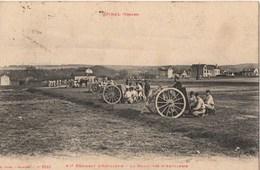 EPINAL (Vosges), 62e Régiment D'Artillerie - La Manœuvre D'artillerie - Guerra 1914-18