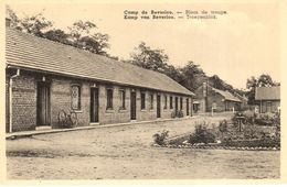 Bourg-Léopold - CPA - Camp De Beverloo - Blocs De Troupe - Belgique