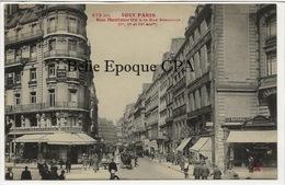 75 - TOUT PARIS 03 - #873 Bis - Rue Montmartre à La Rue Réaumur ++++ Coll. F. FLEURY +++ Parfait état - District 03