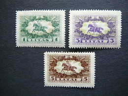 Lietuva Litauen Lituanie Litouwen Lithuania # 1927 MH # Mi. 278/0 Horses - Lituania