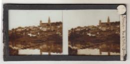 Plaques Stérèoscopiques  Semur En Auxois - Stereoscopes - Side-by-side Viewers