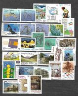 ANDORRA 1997-1998-1999-2000 COMPLETE MNH** YEARSETS. - Unused Stamps
