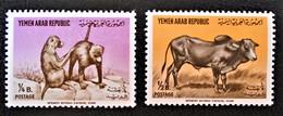ANIMAUX 1964 - NEUFS * - YT 88 + 90 - MI 382 + 384 - Yemen
