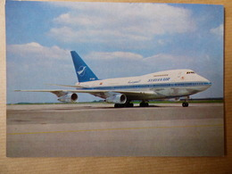AIRLINE ISSUE / CARTE COMPAGNIE    SYRIANAIR  B 747 SP - 1946-....: Ere Moderne