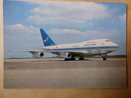 AIRLINE ISSUE / CARTE COMPAGNIE    SYRIANAIR  B 747 SP - 1946-....: Modern Era
