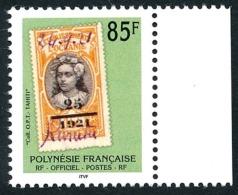 POLYNESIE 1997 - Yv. Service 28 ** Bdf  Faciale= 0,71 EUR - Timbre D'Océanie Sur Timbre  ..Réf.POL23430 - Service