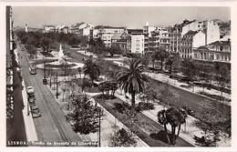 Lisboa, Trecho Da Avenida Da Liberdade - Lisboa