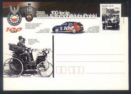 Z07 - Poland - Postal Stationery - Cars Oldtimers Stanislaw Grodzki - Autos