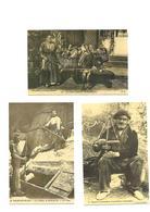 Carte Postale Pays Basque   (64)  Petits Métiers Repro 3 Cartes - France