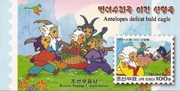 KOREA NORTH (DPR), 2002, Booklet 109, Fairy Tale - Korea (Nord-)