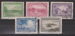 Nederlands Indie Netherlands Indies 304-308 Used ; Verschillende Voorstellingen 1945 - Nederlands-Indië