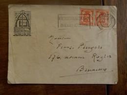 Kaart  Cercle  Prive   Academie De BILLARD   UNION 1945   GENT - Billard