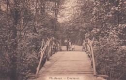 1850348Deventer, Plantsoen (linksonder Een Vouw Zie Achterkant) - Deventer