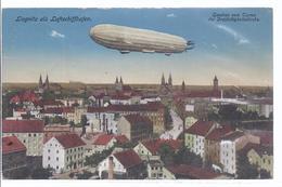 Liegnitz Als Luftschiffhafen - Gesehen Von Der Dreifaltigkeitskirche - Zeppelin -  Feldpost -  (wz-L-3-335) - Schlesien