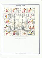 Espagne ANNEE COMPLETE 1995 MAJORITE OBLITERE - Manque N° 2988 - Années Complètes
