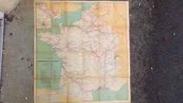 CARTE MARINE VOIES NAVIGABLES FRANCE- 1911-MINISTERE TRAVAUX PUBLICS POSTES TELEGRAPHES-BERGER LEVRAULT PARIS NANCY - Nautical Charts