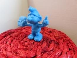 116 - Figurine - Publicité Lessive Omo - Schtroumpf Savant - Smurfs
