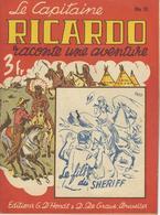Capitaine RICARDO N° 51 - Le Fils Du Sheriff - TBE - Avontuur