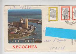 ARGENTINA  1987 - Lettera Per L'Italia Da Necochea - Argentina