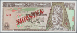 01659 Guatemala: 1/2 Quetzal 1992 Specimen P. 79s In Condition: UNC. - Guatemala