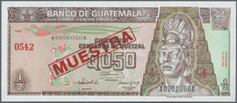 01660 Guatemala: 1/2 Quetzal 1992 Specimen P. 79s In Condition: UNC. - Guatemala