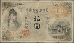 01891 Japan: 1 Yen Gold ND(1915) P. 36 In Condition: F. - Japón