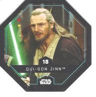 JETON LECLERC STAR WARS   N° 18 OUI-GON JINN - Power Of The Force