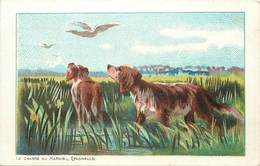 - Thèmes -ref-A575bis- Chasse Au Marais - Marsh Hunting - Epagneuls - Chien - Chiens - Illustrateur - Illustrateurs - - Chasse