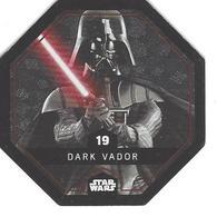 JETON LECLERC STAR WARS   N° 19 DARK VADOR  Brillante - Power Of The Force