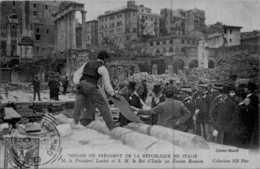 ITALIE - Voyage Du Président De La République - M. Le Président Loubet   - Très Bon état /   LOT  181 - Hommes Politiques & Militaires