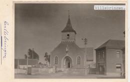 Willebringen ,Boutersem ,FOTO Kerk ,église ,café, UNIQUE ,12,4 X 8,6 Cm - Boutersem