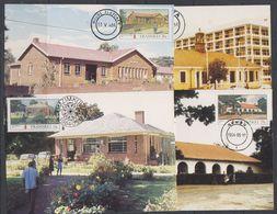 Transkei 1984 Post Offices 4v 4 Maxcimum Cards (19154) - Transkei