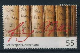 .2005 Germania, Friedrich Von Schiller , Serie Completa Nuova - [7] Repubblica Federale