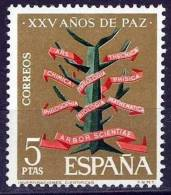 España. Spain. 1964. XXV Años De Paz. XXV Years Of Peace. Investigacion. Research - 1931-Hoy: 2ª República - ... Juan Carlos I