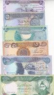 IRAQ 50 250 500 1000 5000 10000 DINAR 2003 P-90 91 92 93 94 95 UNC SET */* - Irak