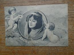 Très Belle Ancienne Carte De L'actrice Spindler - Entertainers