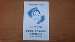 BUVARD CAISSE D'EPARGNE D'ORLEANS - Bank & Insurance