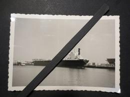 """Le Havre - Photo Originale - Pétrolier """" Le Magdala """" Shell """" Quai François Mazeline - 1968 - - Bateaux"""