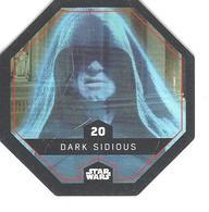 JETON LECLERC STAR WARS   N° 20 DARK SIDIOUS - Power Of The Force