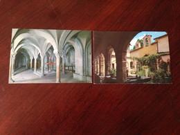 Cartolina Rieti Santuario Della Foresta Cripta Cattedrale Lotto Di 2 Cartoline - Rieti