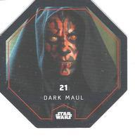 JETON LECLERC STAR WARS   N° 21 DARK MAUL - Power Of The Force