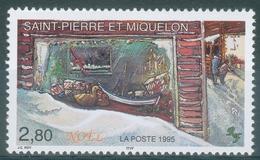 Saint Pierre And Miquelon, Christmas, 1995, MNH VF - St.Pierre & Miquelon