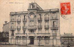 V13023 Cpa 19 Brive - Hôtel Terminus - Brive La Gaillarde