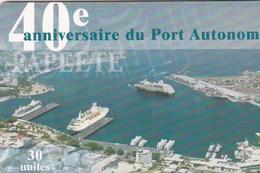 French Polynesia - 40e Anniversaire Du Port Autonome - FP124 - French Polynesia