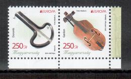 Ungarn / Hungary / Hongrie 2014 Paar/pair EUROPA ** - 2014
