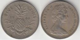 Bahamas 5 Cents 1966 Km#3 - Used - Bahamas