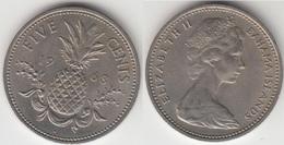 Bahamas 5 Cents 1968 Km#3 - Used - Bahamas