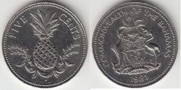 Bahamas 5 Cents 1981 Km#60 - Used - Bahamas