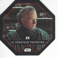 JETON LECLERC STAR WARS   N° 22 SENATEUR PALPATINE - Power Of The Force